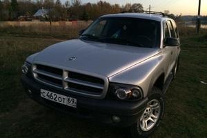 Автомобиль Dodge Durango, хорошее состояние, 2002 года выпуска, цена 450 000 руб., Тверь