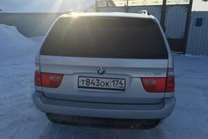 Подержанный автомобиль BMW X5, отличное состояние, 2003 года выпуска, цена 530 000 руб., Челябинск