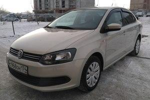 Подержанный автомобиль Volkswagen Polo, отличное состояние, 2013 года выпуска, цена 430 000 руб., Челябинск