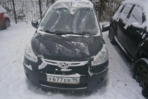 Автомобиль Hyundai i10, хорошее состояние, 2009 года выпуска, цена 255 000 руб., Екатеринбург