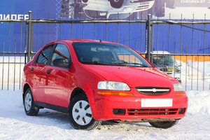 Подержанный автомобиль Chevrolet Aveo, отличное состояние, 2005 года выпуска, цена 185 000 руб., Челябинск