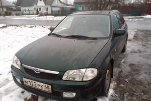 Автомобиль Mazda 323, хорошее состояние, 2000 года выпуска, цена 200 000 руб., Тамбовская область