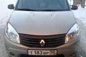 Подержанный автомобиль Renault Sandero, отличное состояние, 2013 года выпуска, цена 370 000 руб., Куровское