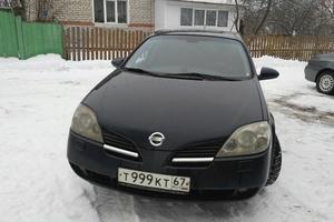 Подержанный автомобиль Nissan Primera, хорошее состояние, 2004 года выпуска, цена 290 000 руб., Смоленская область