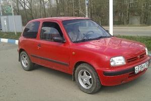 Подержанный автомобиль Nissan Micra, среднее состояние, 1993 года выпуска, цена 90 000 руб., Сергиев Посад