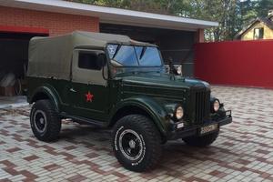 Автомобиль ГАЗ 69, отличное состояние, 1965 года выпуска, цена 400 000 руб., Самара