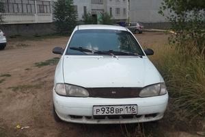 Автомобиль Kia Avella, среднее состояние, 1998 года выпуска, цена 90 000 руб., Елабуга