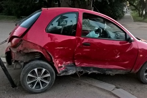Автомобиль Ford Ka, битый состояние, 2000 года выпуска, цена 49 990 руб., Самара