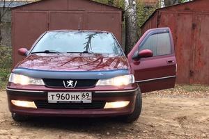 Автомобиль Peugeot 406, хорошее состояние, 2001 года выпуска, цена 200 000 руб., Тверь