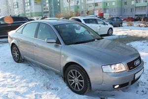 Подержанный автомобиль Audi A6, отличное состояние, 2002 года выпуска, цена 360 000 руб., Челябинск