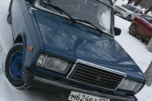 Подержанный автомобиль ВАЗ (Lada) 2107, хорошее состояние, 2007 года выпуска, цена 52 000 руб., Челябинская область