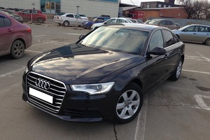 Подержанный автомобиль Audi A6, отличное состояние, 2015 года выпуска, цена 1 550 000 руб., Краснодар