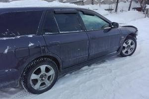 Автомобиль Mitsubishi Legnum, битый состояние, 2000 года выпуска, цена 120 000 руб., Челябинск