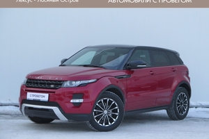 Авто Land Rover Range Rover Evoque, 2013 года выпуска, цена 1 835 000 руб., Москва