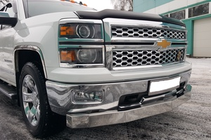 Автомобиль Chevrolet Silverado, отличное состояние, 2014 года выпуска, цена 2 850 000 руб., Москва