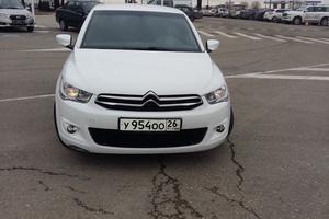 Автомобиль Citroen C-Elysee, отличное состояние, 2013 года выпуска, цена 530 000 руб., Ессентуки