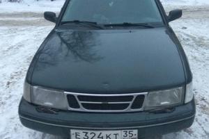 Автомобиль Saab 900, хорошее состояние, 1996 года выпуска, цена 75 000 руб., Тольятти