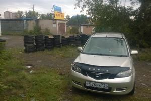 Автомобиль Mazda Demio, хорошее состояние, 2003 года выпуска, цена 225 000 руб., Красноярск