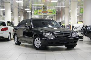 Авто Mercedes-Benz S-Класс, 2002 года выпуска, цена 455 555 руб., Москва