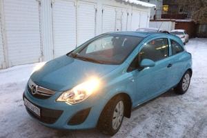 Подержанный автомобиль Opel Corsa, отличное состояние, 2011 года выпуска, цена 370 000 руб., Нижнекамск