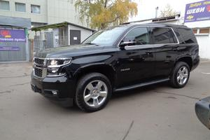 Авто Chevrolet Tahoe, 2016 года выпуска, цена 3 350 000 руб., Москва