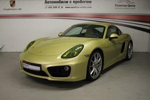 Авто Porsche Cayman, 2014 года выпуска, цена 3 700 000 руб., Москва