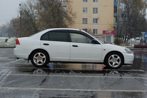 Подержанный автомобиль Honda Civic, хорошее состояние, 2000 года выпуска, цена 185 000 руб., Одинцово