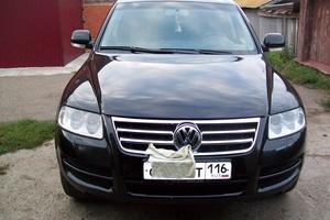 Подержанный автомобиль Volkswagen Touareg, хорошее состояние, 2003 года выпуска, цена 550 000 руб., Казань