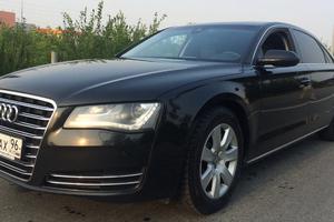 Подержанный автомобиль Audi A8, отличное состояние, 2011 года выпуска, цена 1 500 000 руб., Екатеринбург