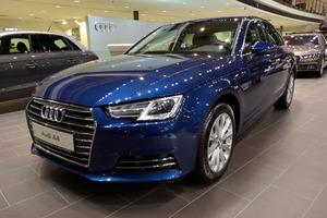Новый автомобиль Audi A4, 2016 года выпуска, цена 2 425 049 руб., Москва