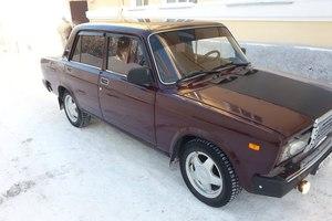 Подержанный автомобиль ВАЗ (Lada) 2107, хорошее состояние, 2006 года выпуска, цена 80 000 руб., Сатка