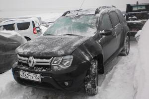 Подержанный автомобиль Renault Duster, битый состояние, 2015 года выпуска, цена 435 000 руб., Московская область