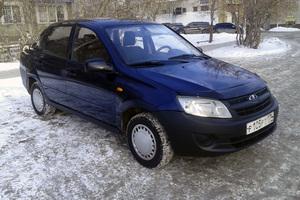 Подержанный автомобиль ВАЗ (Lada) Granta, отличное состояние, 2013 года выпуска, цена 179 000 руб., Челябинск