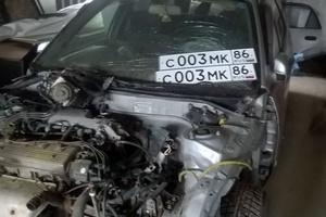Автомобиль Toyota Sprinter Carib, битый состояние, 1999 года выпуска, цена 130 000 руб., Тюмень
