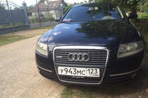 Автомобиль Audi A6, хорошее состояние, 2004 года выпуска, цена 460 000 руб., Краснодарский край