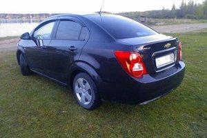 Подержанный автомобиль Chevrolet Aveo, отличное состояние, 2012 года выпуска, цена 400 000 руб., Дмитров