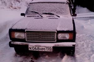 Подержанный автомобиль ВАЗ (Lada) 2107, хорошее состояние, 2004 года выпуска, цена 55 000 руб., Серпухов