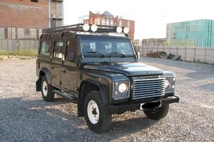 Автомобиль Land Rover Defender, отличное состояние, 2008 года выпуска, цена 1 050 000 руб., Новосибирск