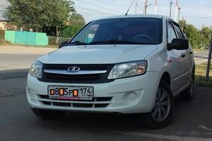Подержанный автомобиль ВАЗ (Lada) Granta, отличное состояние, 2013 года выпуска, цена 265 000 руб., Магнитогорск