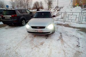 Подержанный автомобиль ВАЗ (Lada) Priora, хорошее состояние, 2008 года выпуска, цена 165 000 руб., Смоленск