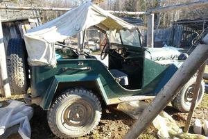 Автомобиль ГАЗ 67, плохое состояние, 1950 года выпуска, цена 350 000 руб., Москва