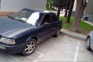 Подержанный автомобиль Audi 80, отличное состояние, 1993 года выпуска, цена 130 000 руб., Сочи
