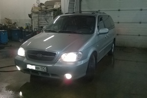 Подержанный автомобиль Kia Carnival, хорошее состояние, 2005 года выпуска, цена 390 000 руб., Мытищи