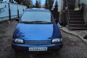 Автомобиль Nissan Prairie, хорошее состояние, 1992 года выпуска, цена 135 000 руб., Курск
