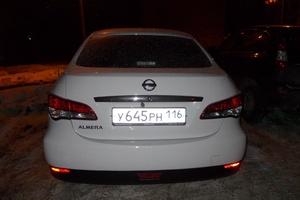 Подержанный автомобиль Nissan Almera, среднее состояние, 2015 года выпуска, цена 430 000 руб., Казань