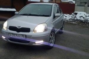 Автомобиль Toyota Vitz, отличное состояние, 2003 года выпуска, цена 275 000 руб., Тюмень