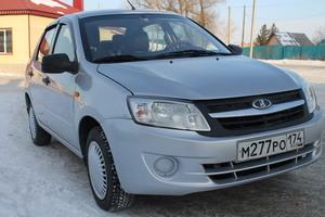 Подержанный автомобиль ВАЗ (Lada) Granta, отличное состояние, 2013 года выпуска, цена 245 000 руб., Челябинск