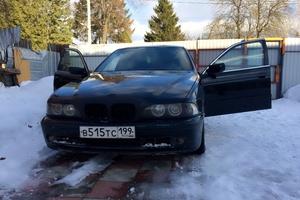 Подержанный автомобиль BMW 5 серия, среднее состояние, 2000 года выпуска, цена 215 000 руб., Серпухов