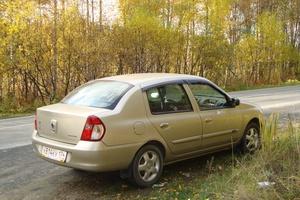 Подержанный автомобиль Renault Symbol, хорошее состояние, 2007 года выпуска, цена 275 000 руб., Челябинск