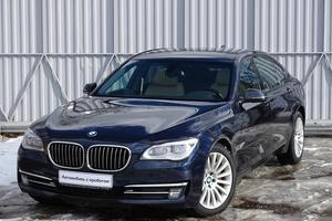 Авто BMW 7 серия, 2013 года выпуска, цена 2 199 000 руб., Москва